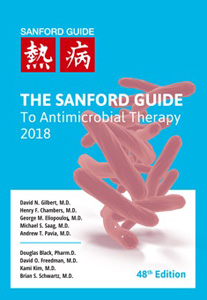 The Sanford Guide to Antimicrobial Therapy 2018 48e (Pocket Edition)