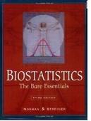 Biostatistics,3/e: The Bare Essentials