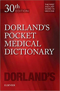 Dorland's Pocket Medical Dictionary, 30e