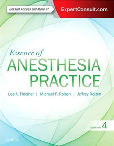 Essence of Anesthesia Practice,4/e