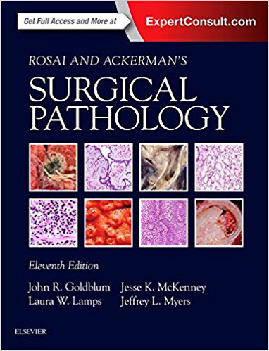 Rosai and Ackerman's Surgical Pathology,11/e(2Vols)