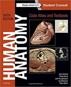 Human Anatomy:Color Atlas and Textbook,6/e