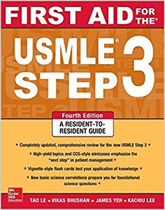 First Aid for the USMLE Step 3,4/e(IE)