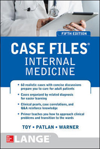 Case Files:Internal Medicine,5/e(IE)
