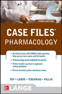 Case Files:Pharmacology,3/e(IE)