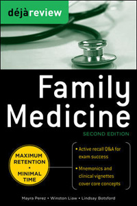 Deja Review Family Medicine,2/e