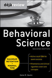 Deja Review Behavioral Science,2/e(IE)