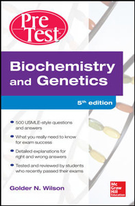 Biochemistry and Genetics Pretest Self-Assessment and Review,5/e(IE)