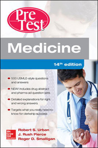 Medicine PreTest Self-Assessment and Review,14/e(IE)