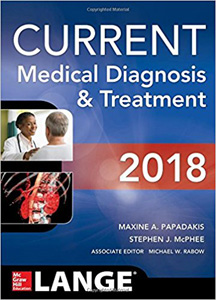 CURRENT Medical Diagnosis and Treatment 2018, 57/e
