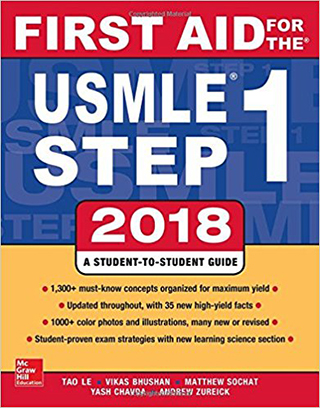 First Aid for the USMLE Step 1 2018,28/e(IE)