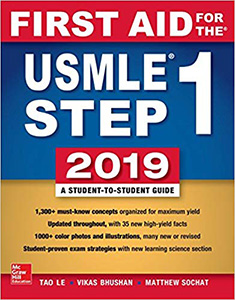 First Aid for the USMLE Step 1 2019 29e(IE)