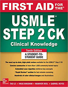 First Aid for the USMLE Step 2 CK 10e(IE)
