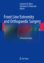Front Line Extremity and Orthopaedic Surgery: A Practical Guide