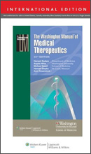 The Washington Manual of Medical Therapeutics,34/e(IE)