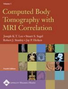 Computed Body Tomography With Mri Correlation,4/e(2vols)