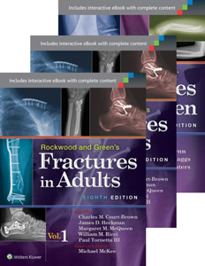 Rockwood and Green's Fractures in Adults and Children Package.8/e