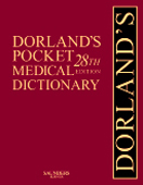 Dorland's Pocket Medical Dictionary,28/e(with CD-ROM)