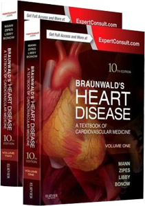 Braunwald's Heart Disease,10/e(2vols)-A Textbook of Cardiovascular Medicine