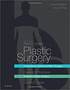 Plastic Surgery,4/e(Vol.3-Craniofacial, Head and Neck Surgery and Pediatric Plastic Surgery)
