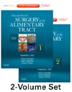 Shackelford's Surgery of the Alimentary Tract,7/e(2Vols)