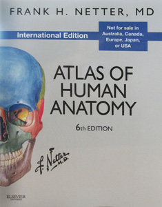 Atlas of Human Anatomy,6/e(IE)