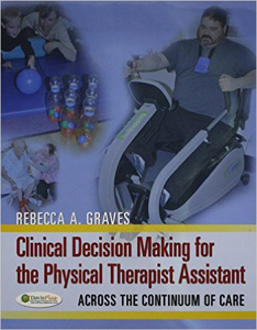 Clinical Decision Making for the Physical Therapist Assistant Pkg + Tabers 22/e Index