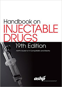 Handbook on Injectable Drugs,19/e