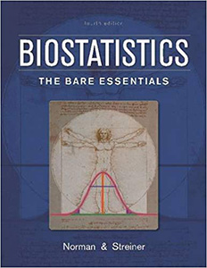 Biostatistics: The Bare Essentials, 4/e