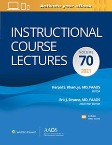 Instructional Course Lectures Vol 70 2021 (ICL) Print + Ebook with Multimedia